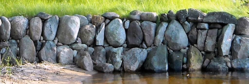 Kivimuurin rakentaminen projekti