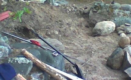 Lyhyt kivimuuri rakentaminen 01