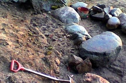 Lyhyt kivimuuri rakentaminen 02