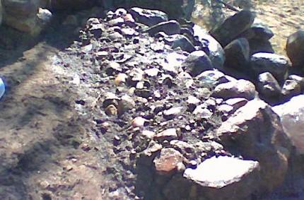 Lyhyt kivimuuri rakentaminen 07