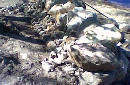 Lyhyt kivimuuri rakentaminen 09