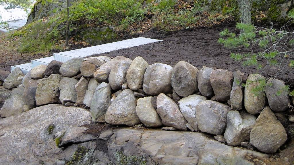 Kivipengerryksen rakentaminen projekti